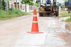 Straßenbau lizenzfreie stockfotos