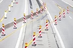Straßenbaustandort Lizenzfreies Stockbild