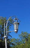 Straßenbeleuchtung im Park samara Stockfoto