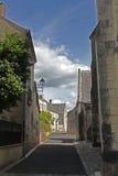 Straßenbild in Pfarrhaus Crissay Sur Stockfoto