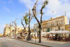 Straßenbild, Victoria, Gozo Lizenzfreie Stockbilder