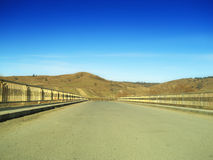 Straßenbrücke Stockfoto