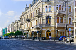 Straßenecke der Stadt Lizenzfreies Stockbild