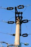 Straßenenergiesäule Stockbild