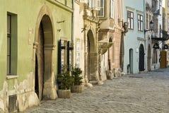 Straßenfassaden Lizenzfreies Stockfoto
