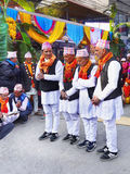 Straßenfest, Asien Nepal Lizenzfreies Stockbild