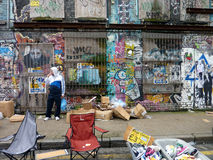 Straßengraffiti-Kunstkunst stockfoto