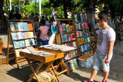 Straßenhändler in Havana, Kuba Stockfotos