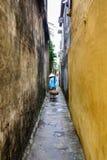 Straßenhändler in Hoi An Ancient Town, Quang Nam, Vietnam Stockbild