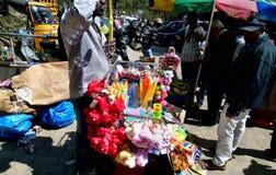 Straßenhändler Indien Stockfotografie
