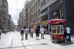 Straßenhändler - Istanbul stockfotos