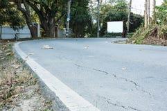 Straßenhintergrund Stockfotos