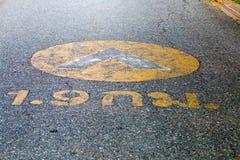 Straßenhintergrund Kann für das Addieren von Gestaltungselementen oben verwendet werden Stockfotos