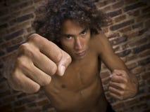 Straßenkämpfer lizenzfreies stockfoto