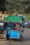 Straßenküche auf Myanmar Lizenzfreie Stockfotos