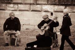 Straßenkünstler in Avignon lizenzfreie stockbilder