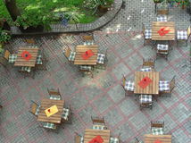 Straßenkaffee Stockbilder