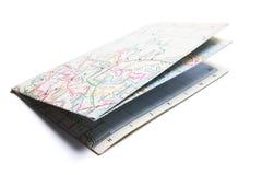 Straßenkarte Stockbilder