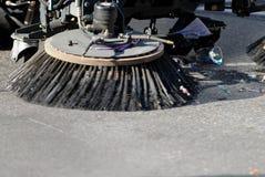 Straßenkehrmaschineauto Lizenzfreie Stockbilder