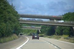 Straßenkreuzung England Stockfotos