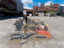 Straßenkunst Stockfoto