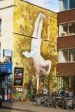 Straßenkunst in Bristol, Vereinigtes Königreich Lizenzfreie Stockfotos