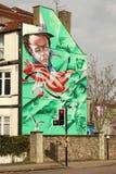 Straßenkunst in Bristol, Vereinigtes Königreich Stockfoto