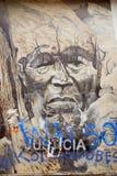 Straßenkunst im Stadtzentrum gelegenes Ushuaia Lizenzfreies Stockbild