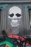Straßenkunst ist eine der bedeutenden Touristenanziehungskraft in Melbourne Stockbild