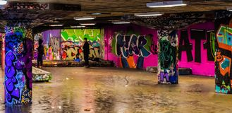 Straßenkunst in London stockfotografie