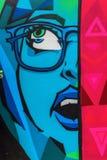 Straßenkunst in London, Großbritannien Lizenzfreies Stockfoto