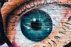 Straßenkunst in London, Großbritannien Stockfotos