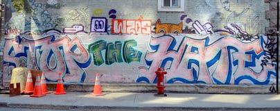 Straßenkunst Montrea Stockfotografie