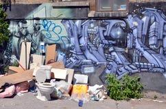 Straßenkunst Montrea Lizenzfreies Stockfoto