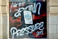 Straßenkunst Montreal Lizenzfreie Stockfotografie