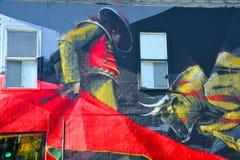 Straßenkunst Montreal Stockfotos