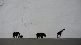 Straßenkunstarchivbild Lizenzfreie Stockfotografie