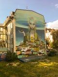Straßenkunstwand lizenzfreies stockfoto