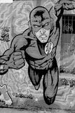 Straßenkunstwandgemälde des Blitzes Lizenzfreie Stockbilder