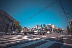 Straßenkyoto-Stadt Lizenzfreies Stockfoto
