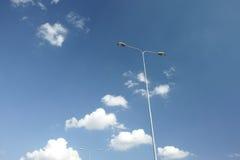 Straßenlampe Stockfoto
