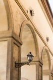 Straßenlaterne in Florenz Lizenzfreies Stockfoto