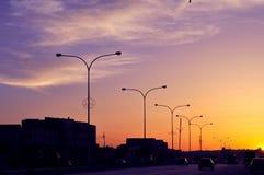 Straßenlaterne-Maßeinheiten Stockbilder