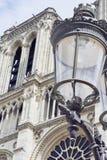 Straßenlaterne in Paris stockfoto