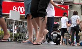 Straßenleben stockbilder