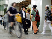 Straßenleben lizenzfreies stockbild