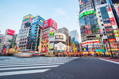 Straßenleben in Shinjuku Stockbilder