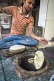 Straßenlebensmittel in Delhi, Indien Lizenzfreies Stockfoto