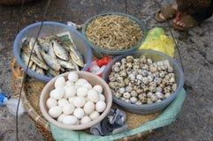 Straßenlebensmittel in Vietnam Lizenzfreies Stockfoto