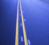 Straßenlinien Lizenzfreies Stockfoto